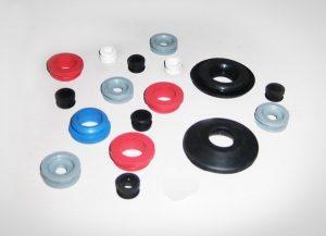 przelotki gumowe - przelotki z gumy różne kolory