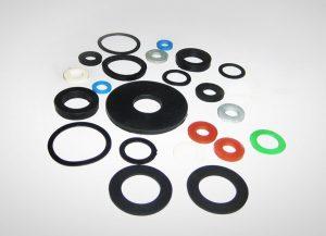 Podkładki gumowe - podkładki z gumy różnych rozmiarów i kształtów